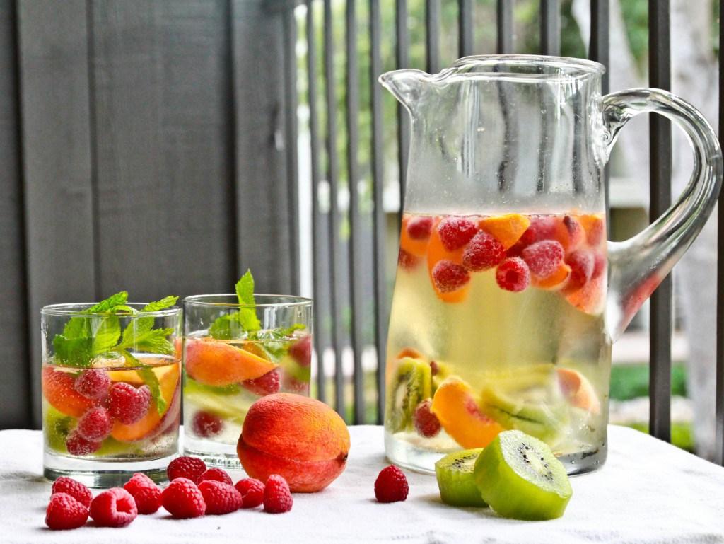 água saborizada