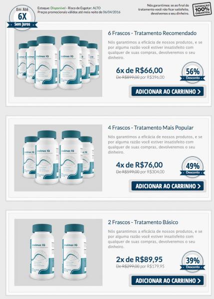 Intelimax-preco