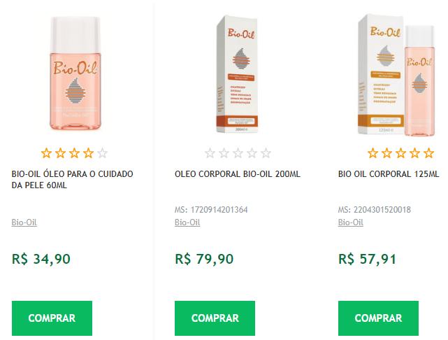 biol oil preços
