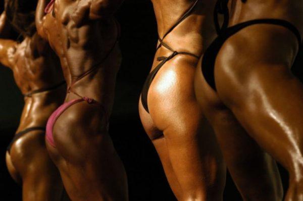 mulheres fisiculturismo