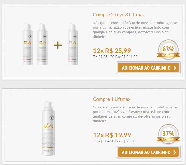 kit preços lift max