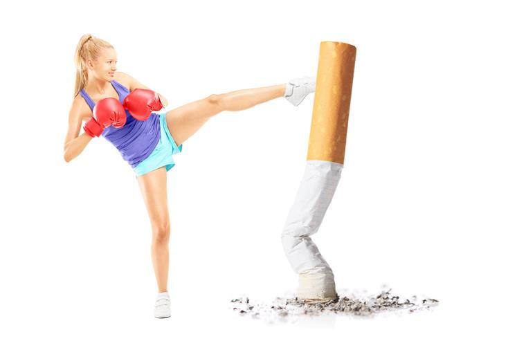 Adesivo para parar de fumar