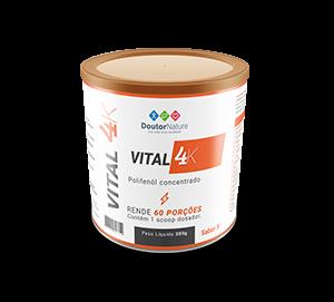 Vital 4K: Tenha mais energia e perca peso naturalmente!