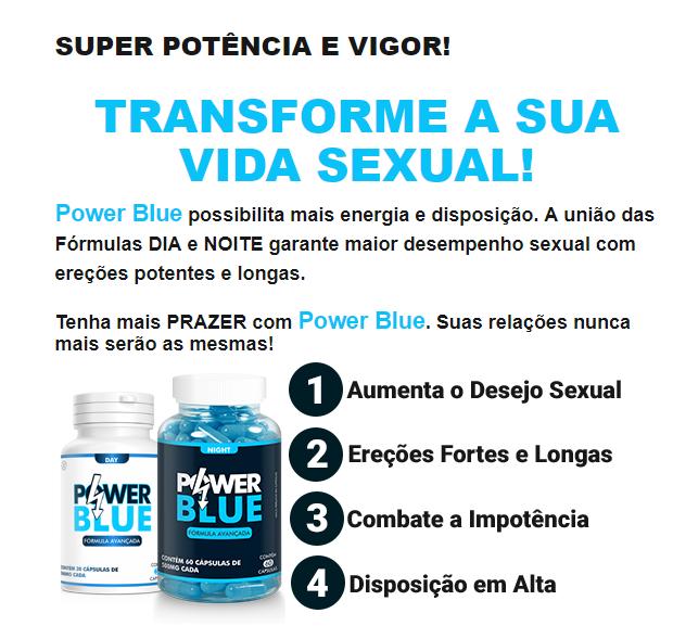 Power Blue benefícios