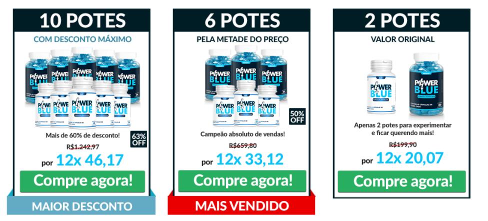 preço kit power blue