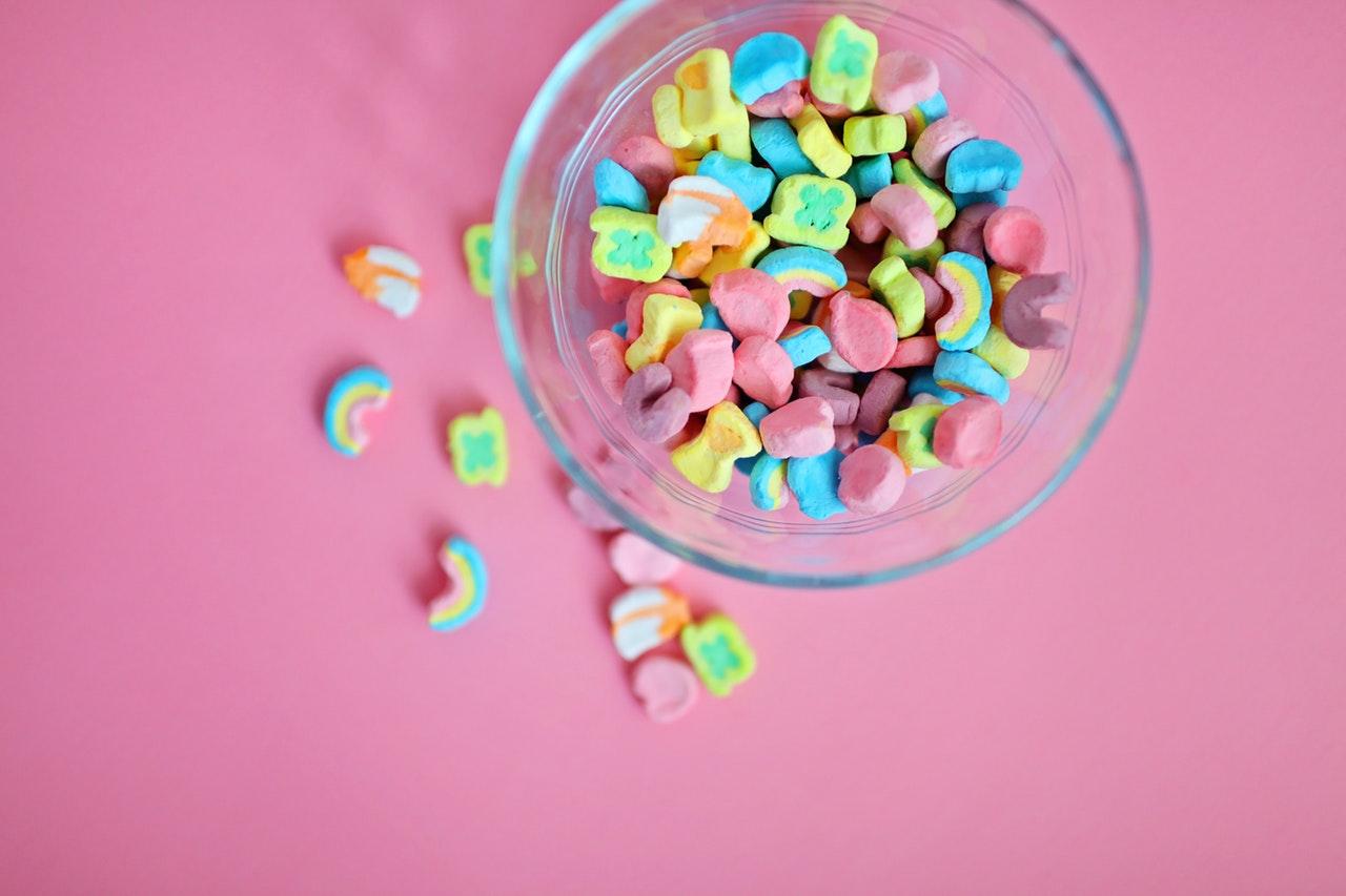 pote de doces compulsão por doces