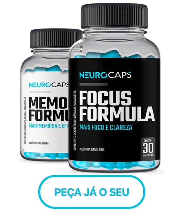 potes de Neuro Caps