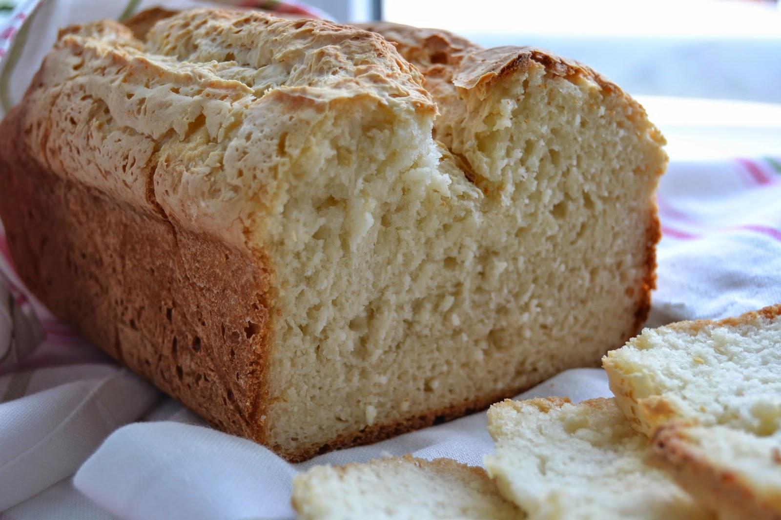 receita de pão de farinha de feijão branco