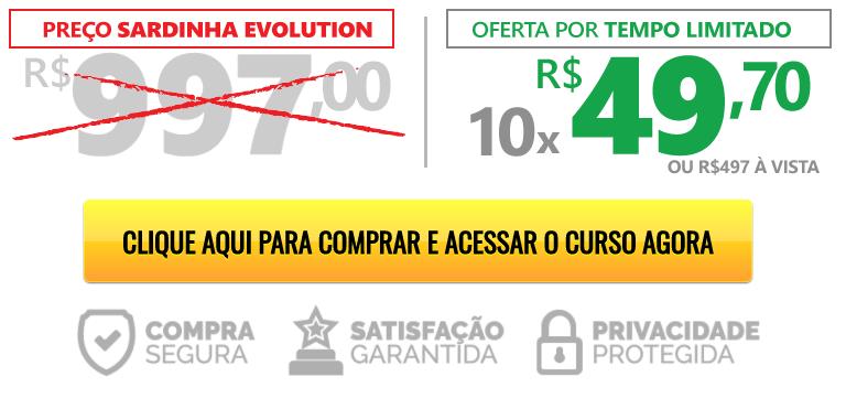 preço sardinha evolution