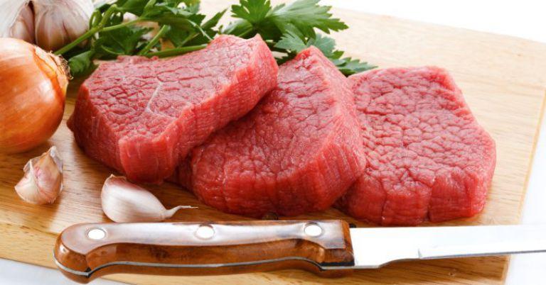 Alimentos para anemia carne vermelha