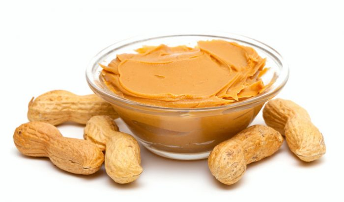 alimentos para anemia manteiga de amendoim