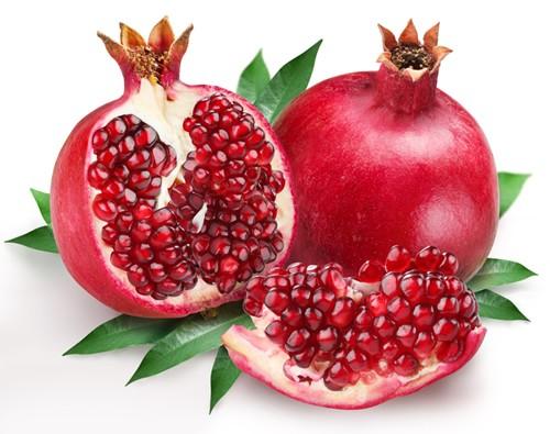 alimentos para anemia romã