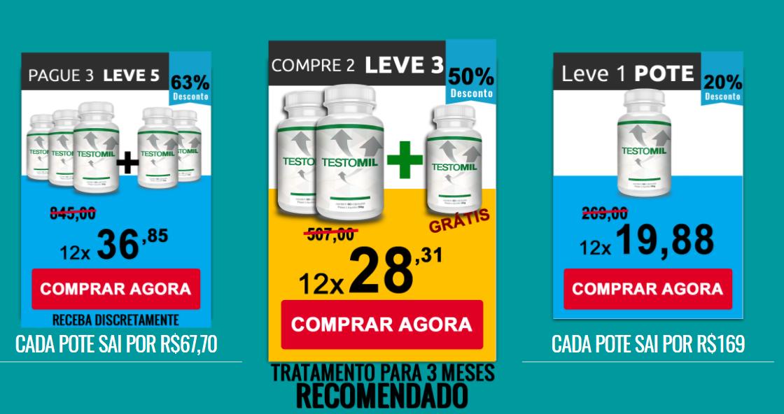 preço do testomil
