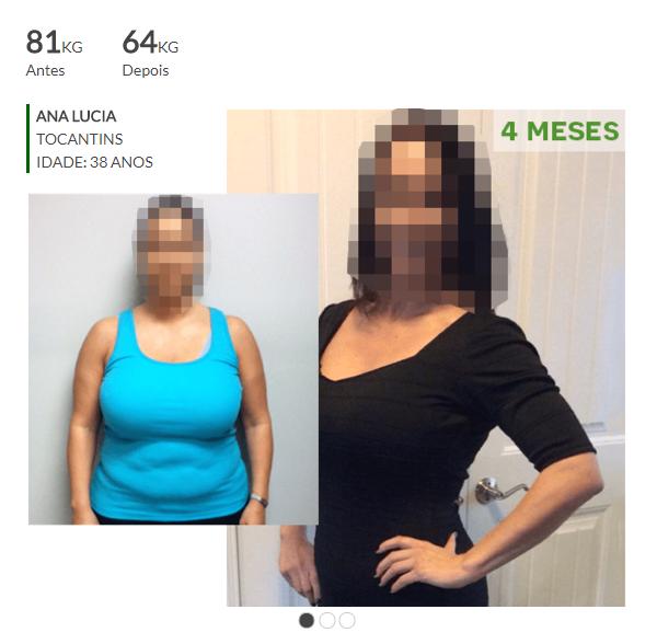 antes e depois de usar ultra mixim