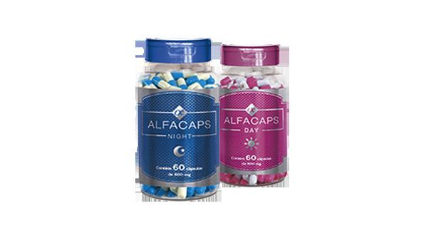 embalagens de Alfacaps