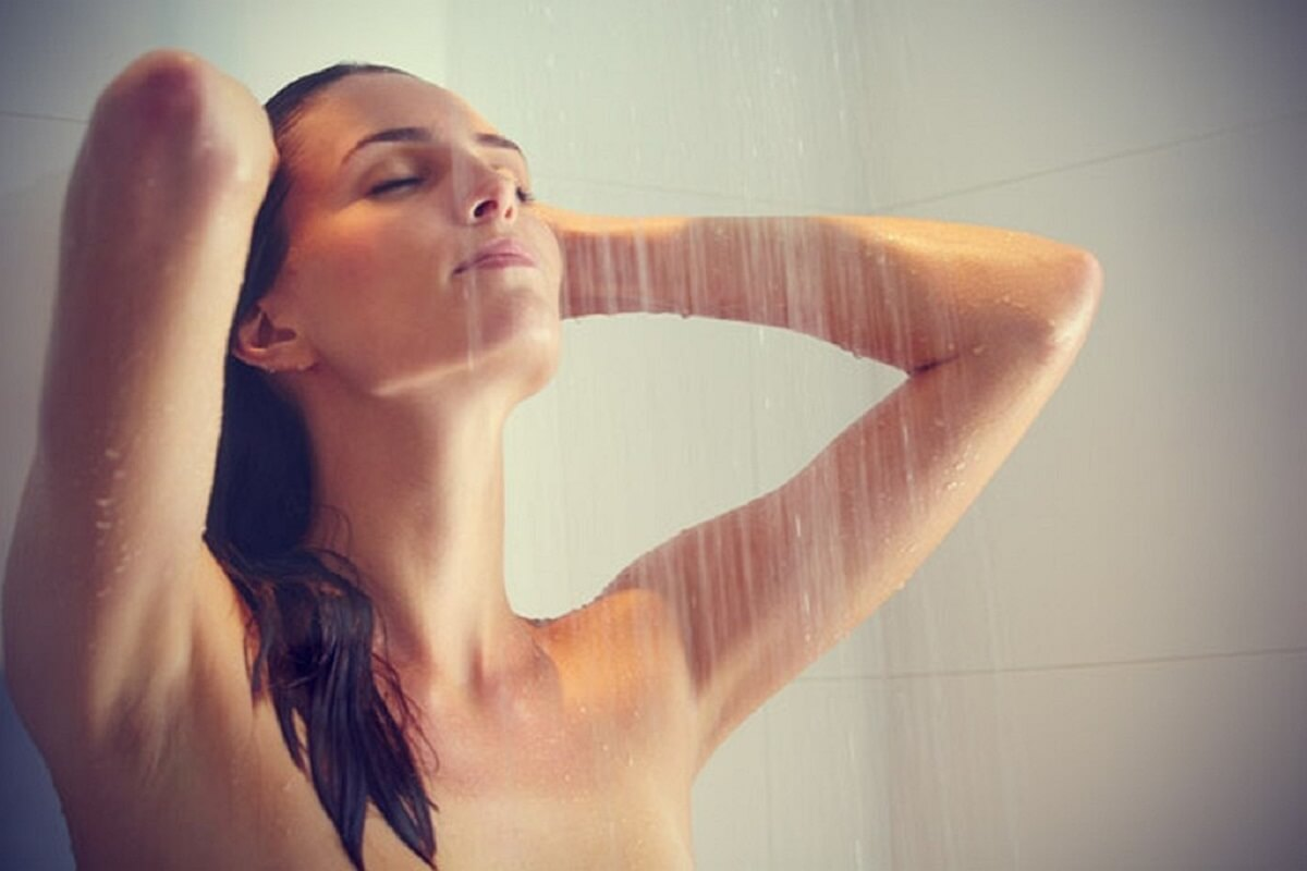 banho gelado