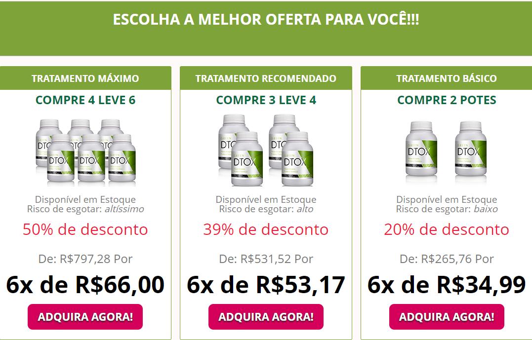 Green Detox preço