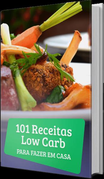 e-book 101 receitas low carb imagem