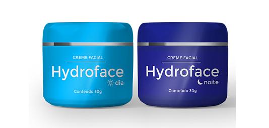 hydroface frascos dia e noite