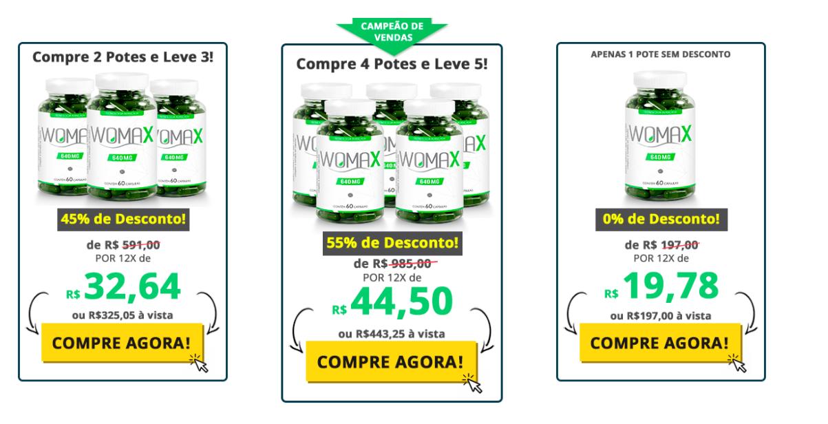 womax preços