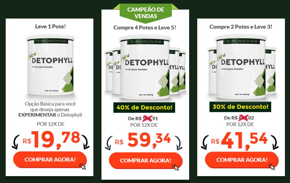 preço o Detophyll