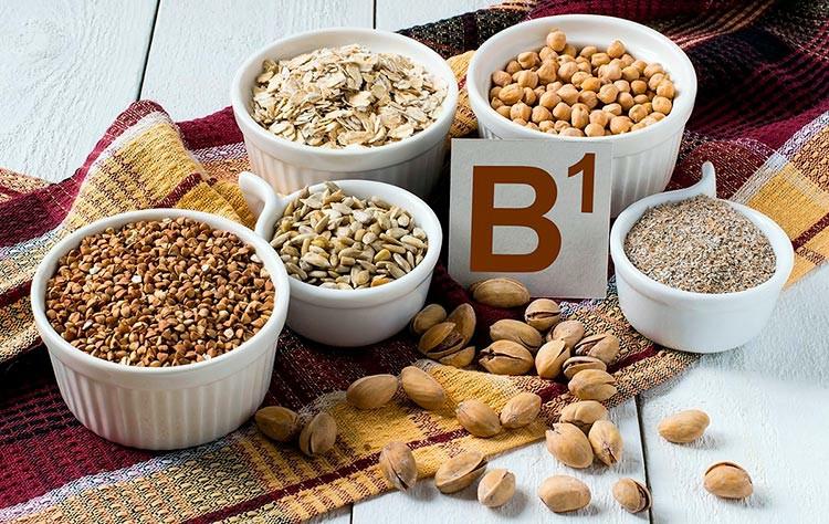 Vitamina para memória alimentos ricos em B1