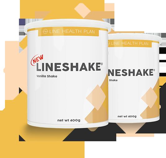LineShake imagem frasco