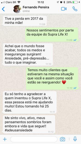 supra life x quem já usou