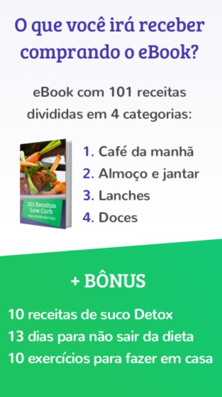 e-book 101 receitas funcionais