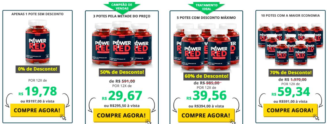 preço do Power Red