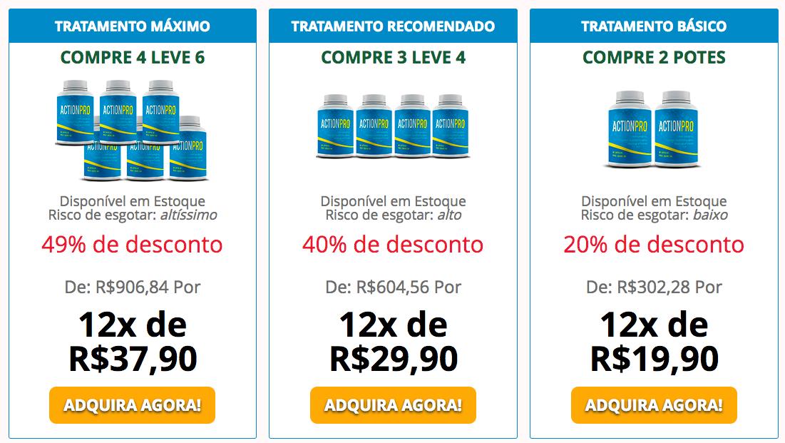 preço do ActionPro
