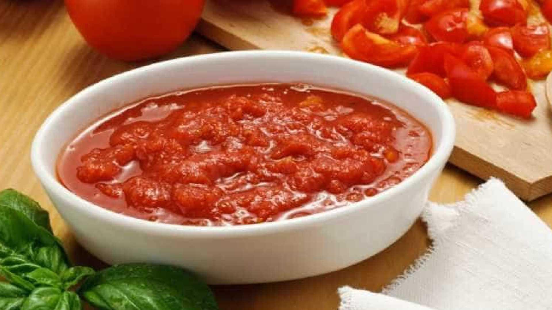 receita molho de tomate