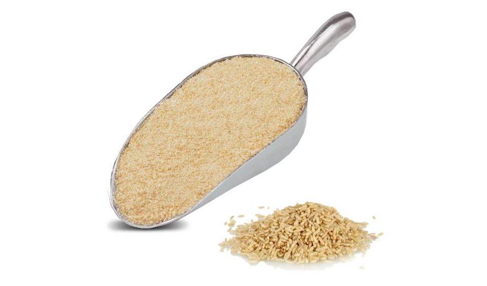 Alimentos sem glúten farinha de arroz