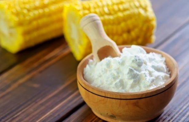 Alimentos sem glúten amido de milho