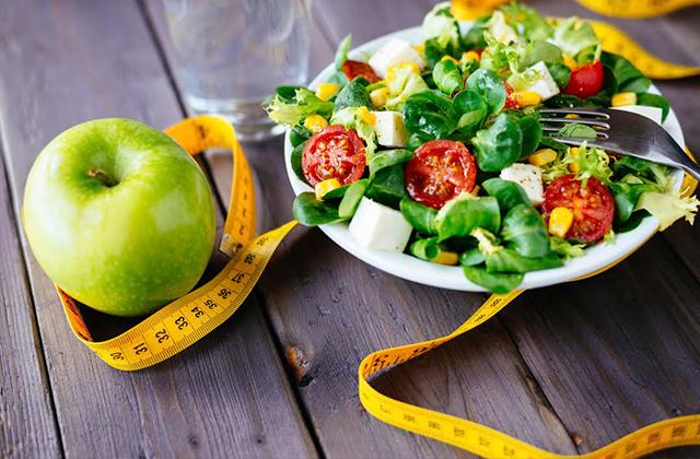 prato de comida fitness