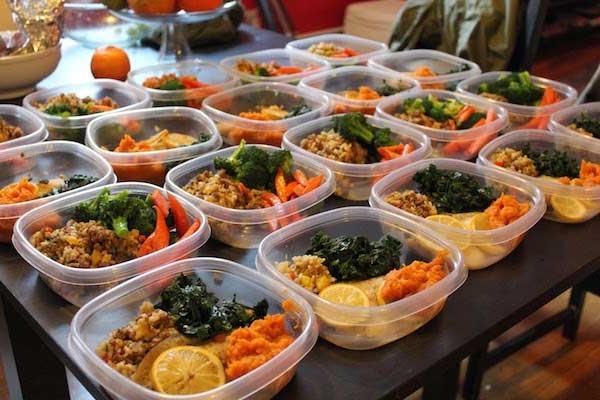 marmitas para o Dieta para ganhar massa muscular