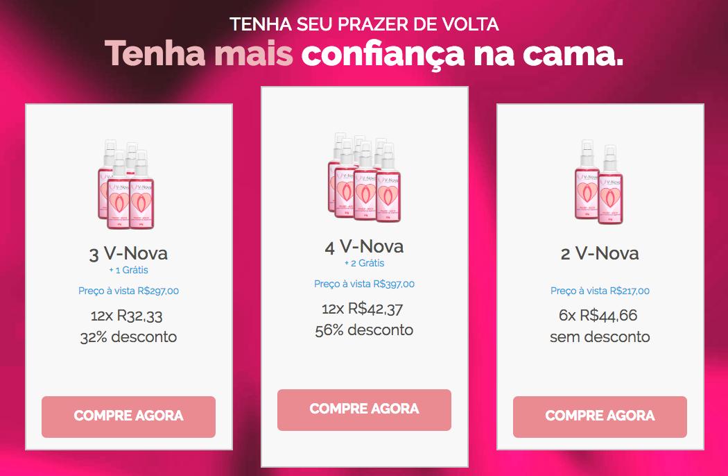 v-nova preços