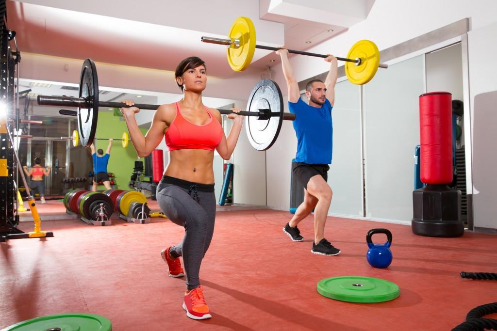 musculação tênis