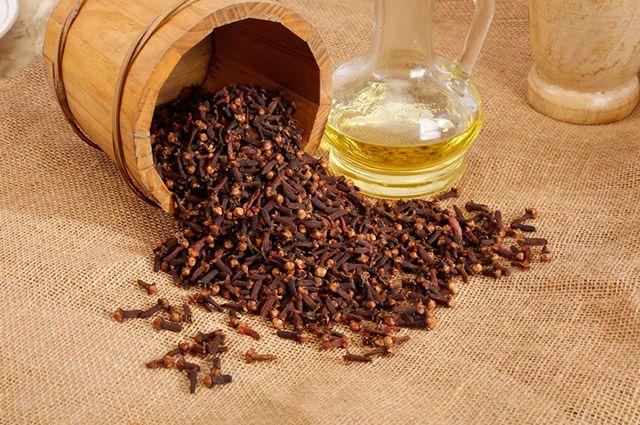 óleo de cravo caseiro