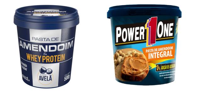 pasta de amendoim integral power one ou mandubim